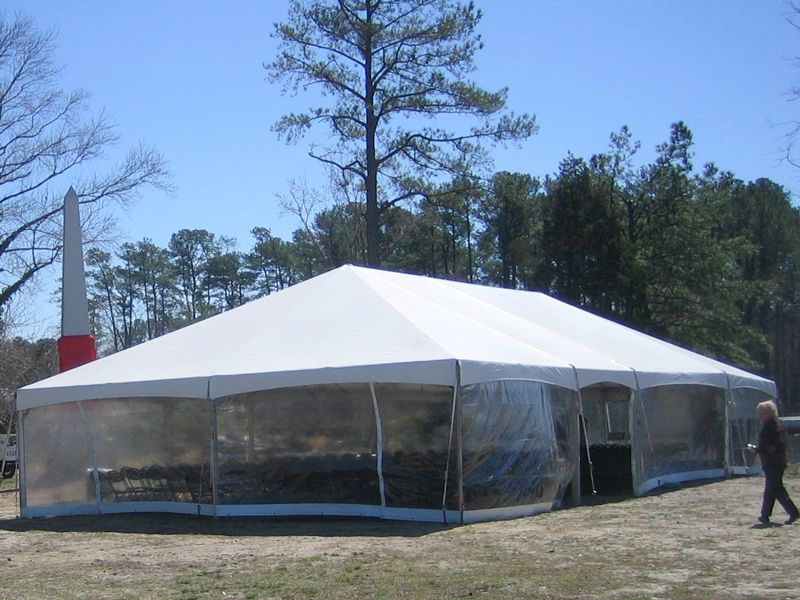 Tent Side Walls Clear Destination Events