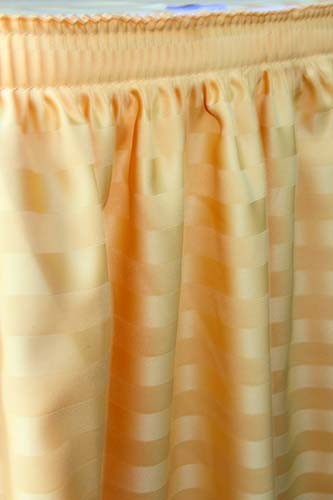 17_foot_gold_poly_stripe_table_skirt