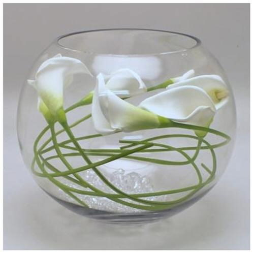 destination events large fish bowl centerpiece