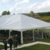 40 by 40 Frame Tent