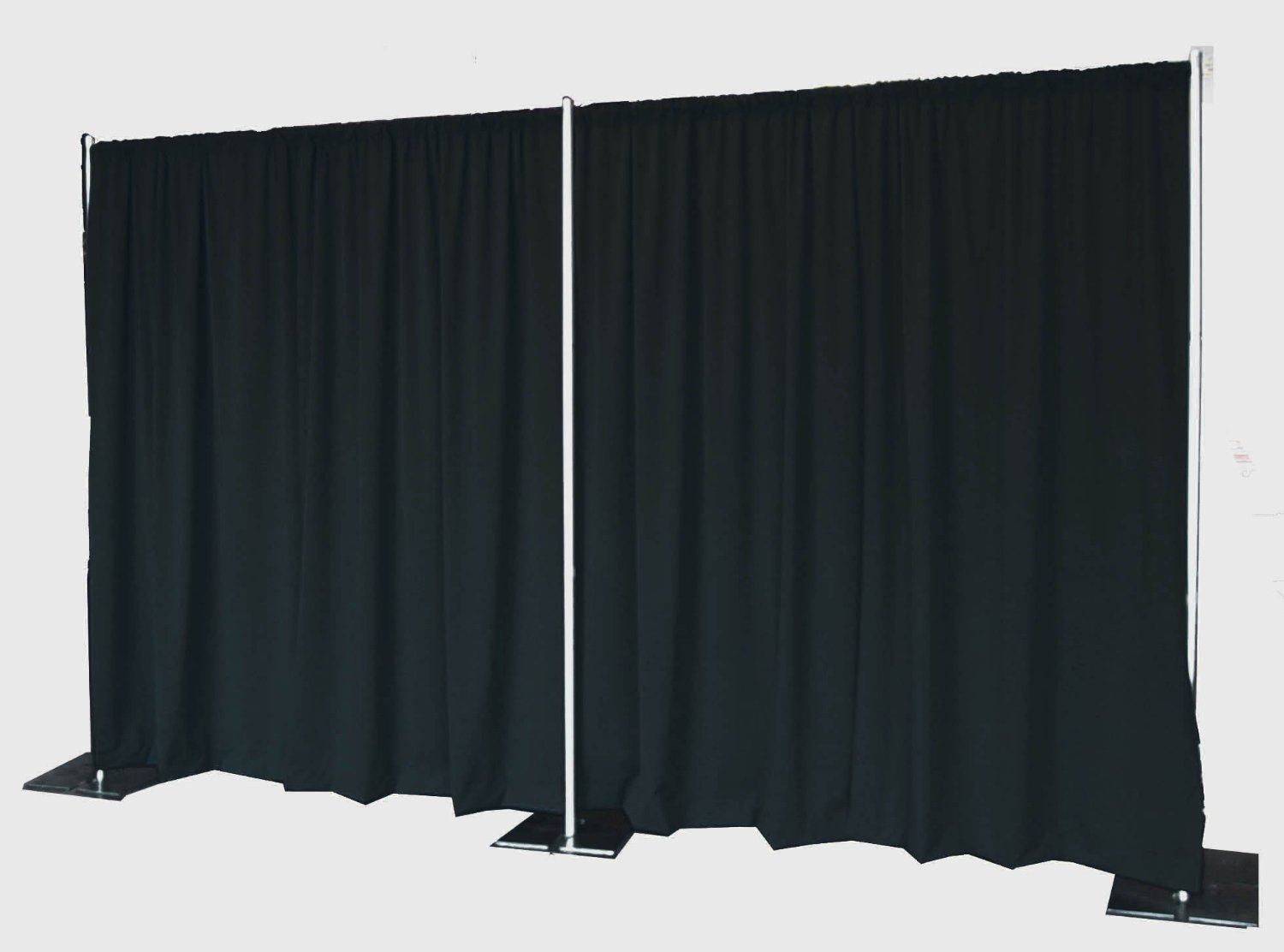 banner space from pipe supplies drape transform qsd easily affordably your and drapes