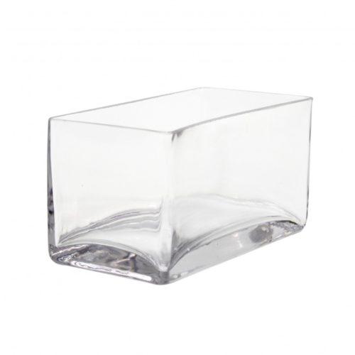 8 x 4 x 4 glass vase
