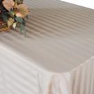 Satin Stripe Banquet Linens