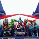 Avengers themed Bounce House