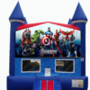 Avengers themed Bounce house