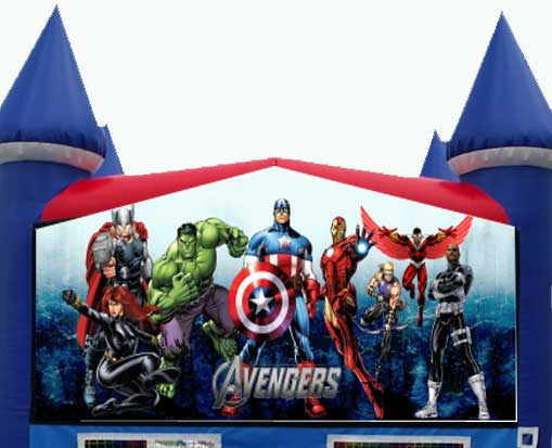 Destination Events Avengers Bounce House Destination Events