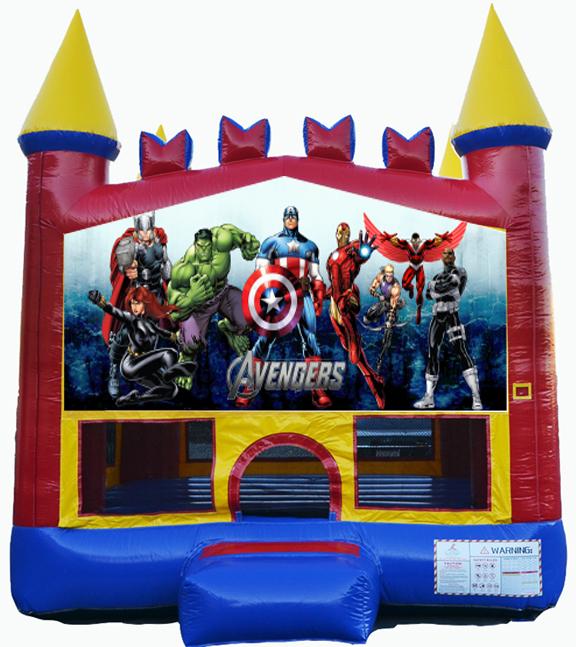 Destination Events Avengers Bounce House Destination Events