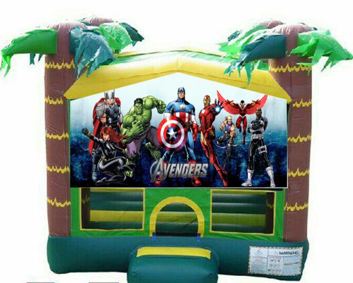 Avengers Bounce House Destination Events