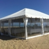 Canopy side wall 8 x 20 - clear (1)