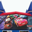 Cars Themed Bounce House