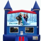 Frozen bounce house