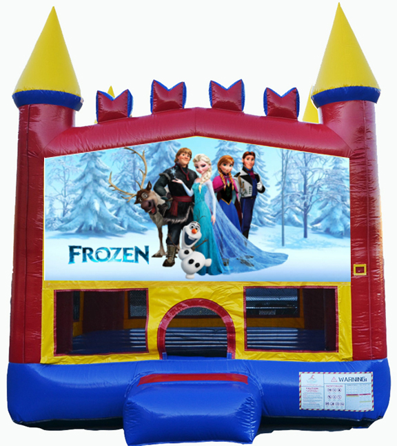 Destination Events Frozen Bounce House Destination Events