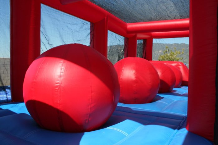 wipe out obstacle course