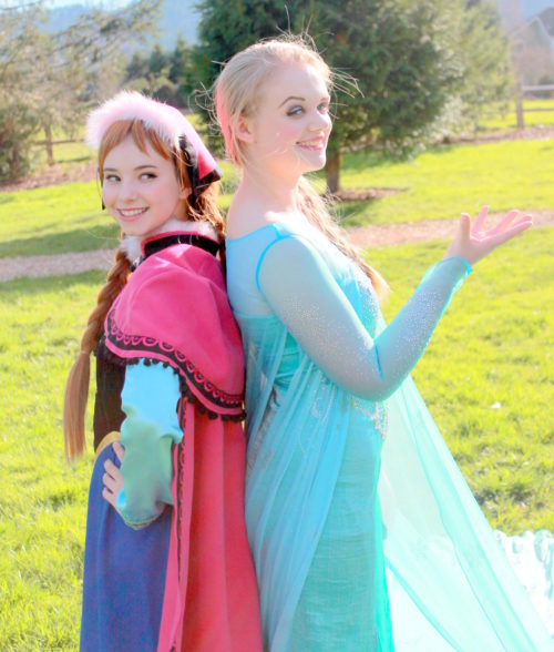 Ice Queen and Princess