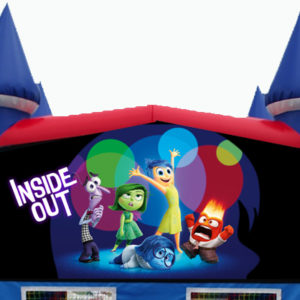 Inside Out Themed Bounce House