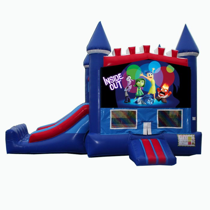Disneys Inside Out Bounce House with Slide