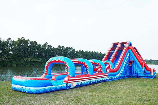 scegli l'autorizzazione vari colori rivenditore di vendita Mega Wave Water Slide (with slip n slide) - Destination Events