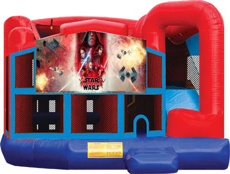 Star Wars The Last Jedi Bounce House
