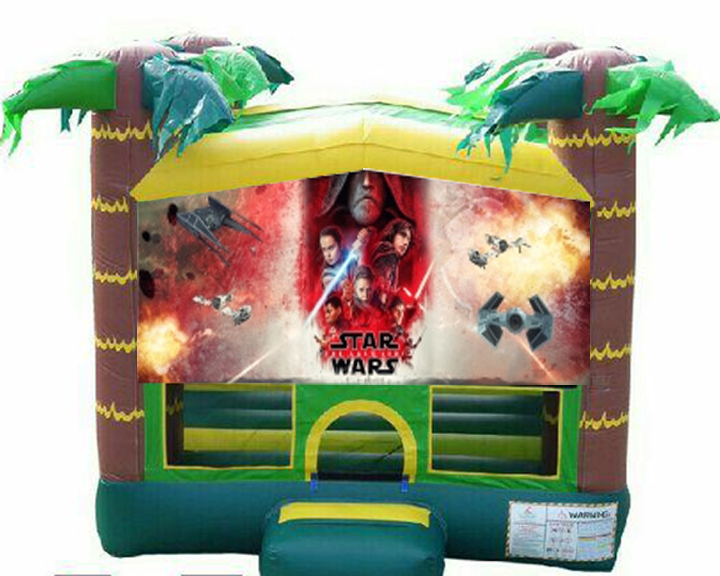 The Last Jedi Bounce House