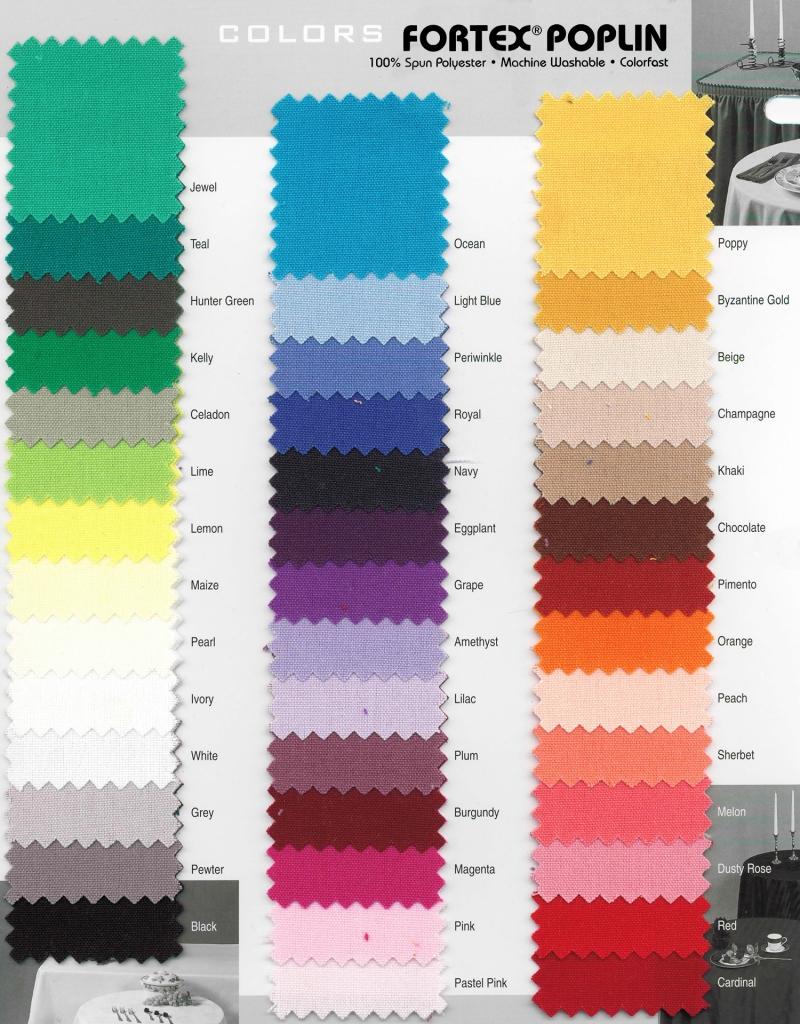 Premium Linen Chart