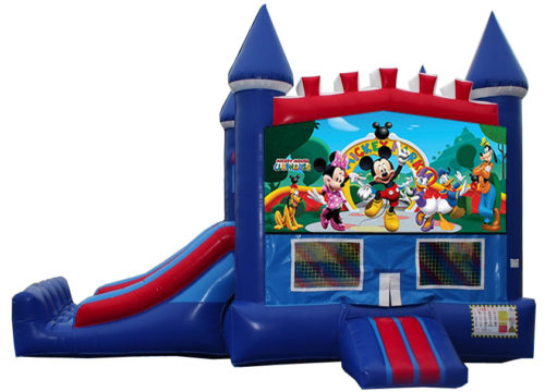 Mickey Mouse Bounce slide combo