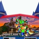 Minecraft themed Bounce House