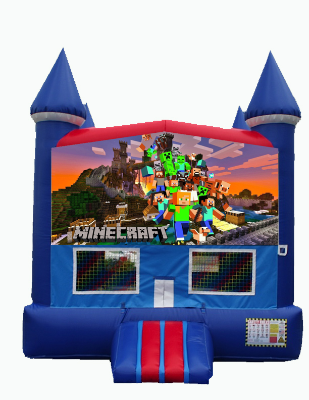 Destination Events Minecraft Bounce House Destination Events