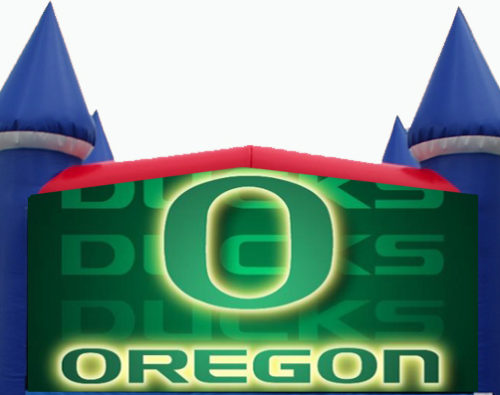 Oregon Ducks Bounce House