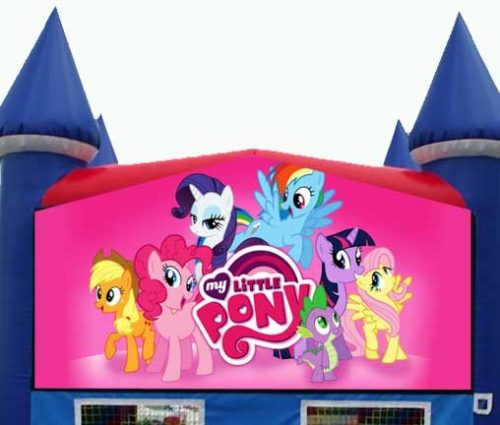 My Little Pony Themed Bounce House