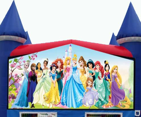 Princess Themed Bounce House