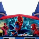 Spiderman Themed Bounce House