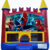 Spiderman - Brick red yellow blue on White copy