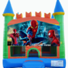 Spiderman - Orange Green Blue on white copy