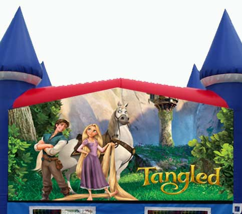 Disney Tangled Bounce House
