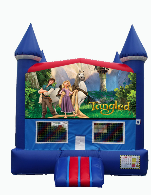Disney Tangled Bounce House