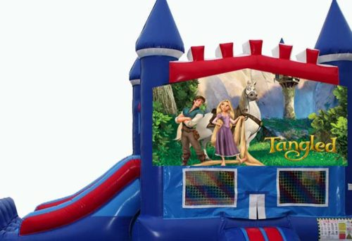 Disney Tangled Bounce House with Slide