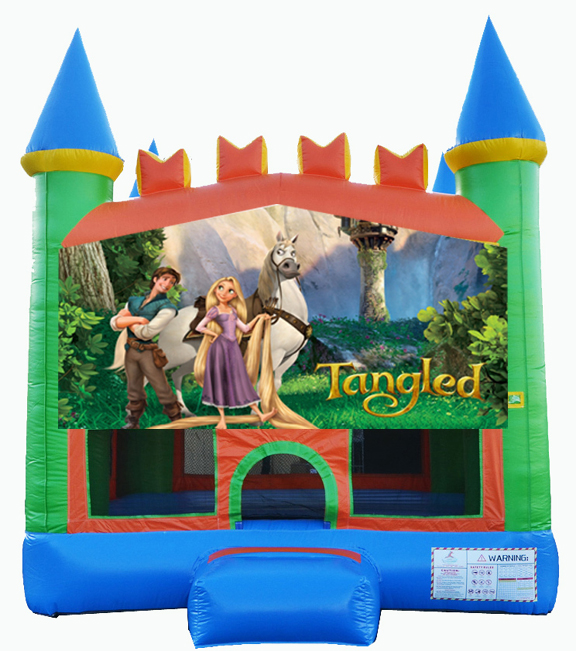 Destination Events Tangled Bounce House Destination Events