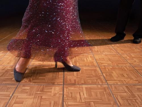 Teak Dance floor