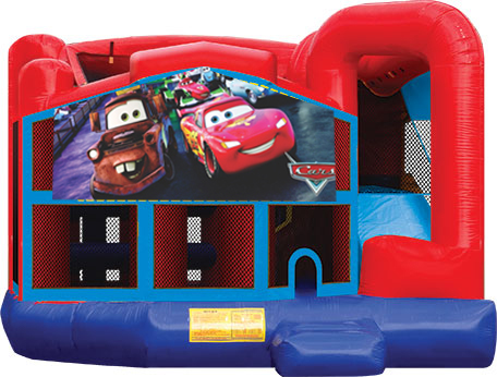 Cars Bounce House Destination Events