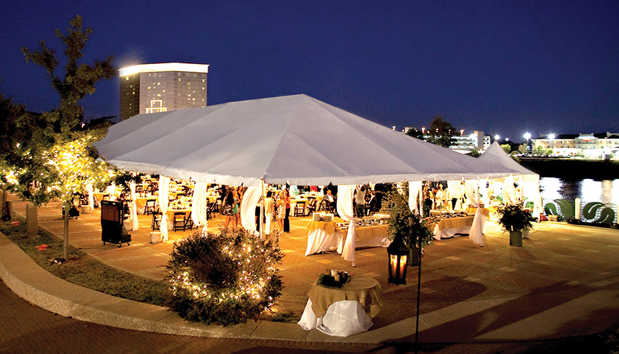 40x100 Frame Tent Destination Events