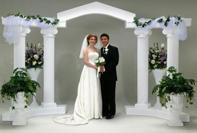 Destination Events Colonnade Wedding Arch Way 9 Piece