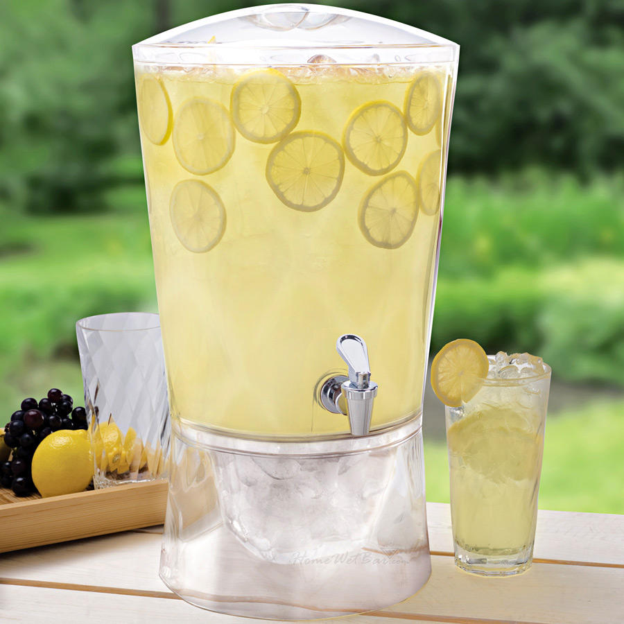 Destination Events Acrylic Drink Dispenser Style 1
