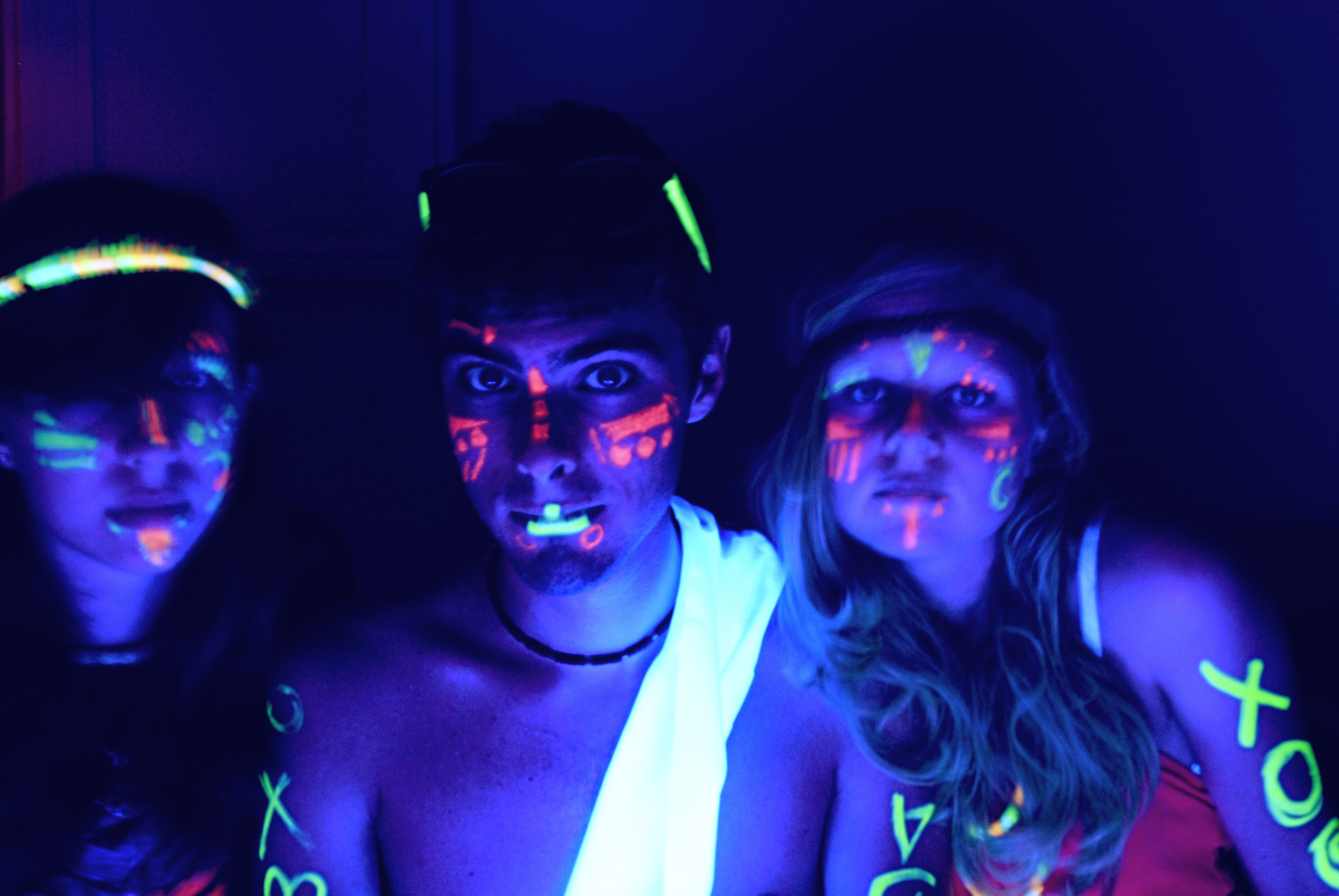 with glow lighting miami broward uv your light lights and party rental black led