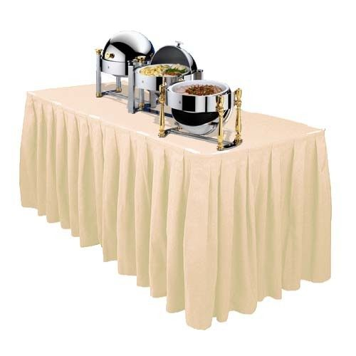 elegant_polyester_box_pleat_white_table_skirt