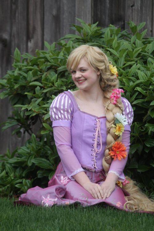 rapunzel princess party 1